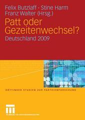 Patt oder Gezeitenwechsel?: Deutschland 2009