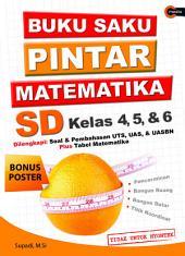 Buku Saku Pintar Matematika SD Kelas 4, 5, & 6