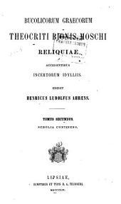 Bucolicorum Graecorum Theocriti Bionis, Moschi reliquae: accedentibus incertorum idylliis, Τόμος 2
