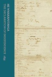 He Whakaputanga: The Declaration of Independence, 1835