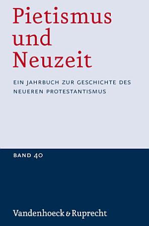 Pietismus und Neuzeit PDF