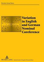 Variation in English and German Nominal Coreference