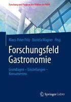 Forschungsfeld Gastronomie PDF