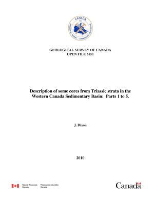 Geological Survey of Canada  Open File 6151 PDF