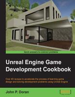Unreal Engine Game Development Cookbook PDF