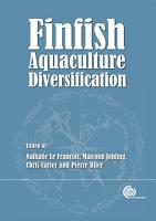 Finfish Aquaculture Diversification PDF