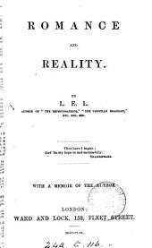 Romance and reality, by L.E.L.