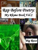 Rap Before Poetry  My Rhyme Book Vol 2 PDF