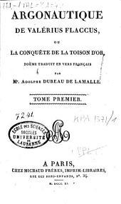 Caii Valerii Flacii Argonauticon libri octo...: Argonautique, Volume1