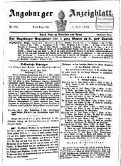 Augsburger Anzeigeblatt: 1856,7/12
