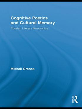 Cognitive Poetics and Cultural Memory PDF