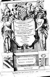De animalibus insectis libri septem cum singulorum iconibus ad viuum expressis. Auctore Vlysse Aldrovando ... Cum indice copiosissimo: Issue 1