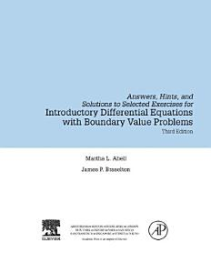 Introductory Differential Equations PDF