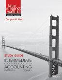 Study Guide to accompany Intermediate Accounting  Volume 1