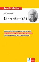 Lekt  rehilfen Ray Bradbury Fahrenheit 451 PDF