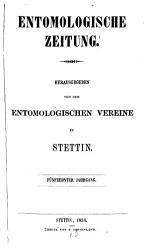 Entomologische Zeitung PDF