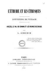 L'Étrurie et les Étrusques souvenirs de voyage par L. Simonin