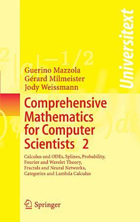 Comprehensive Mathematics for Computer Scientists 2 PDF