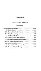 The Retrospective Review, and Historical and Antiquarian Magazine ...: Volume 8