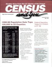 Census and you: monthly news from the U.S. Bureau of the Census, Volume 32, Issue 5