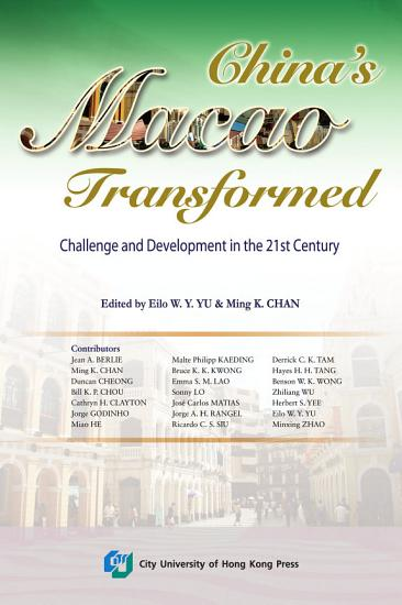 China s Macao Transformed PDF