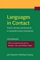 Languages in Contact PDF