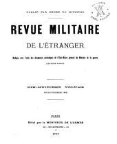 Revue militarie de l'étranger: Volume18