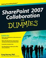SharePoint 2007 Collaboration For Dummies PDF