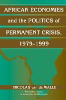 African Economies and the Politics of Permanent Crisis  1979   1999 PDF