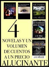 4 Novelas y un Volumen de Cuentos a un Precio Alucinante: Obtén todo lo publicado por J. K. Vélez mientras esperas su nuevo libro