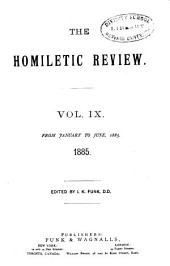 The Homiletic Review: Volume 9
