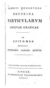 Doctrina particularum linguae graecae