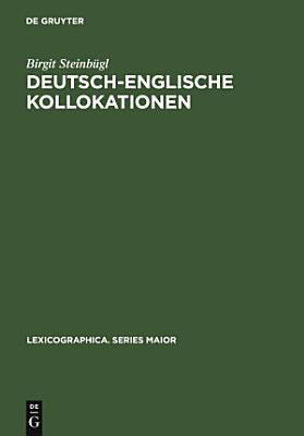 Deutsch englische Kollokationen PDF