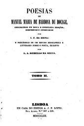 Poesias: Volume 2