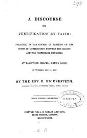 A discourse on justification by faith [on Rom. iii, 28].