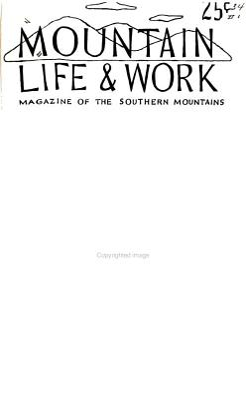 Mountain Life and Work PDF