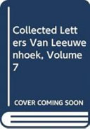 Collected Letters Van Leeuwenhoek