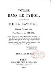 Voyage dans le Tyrol et une partie de la Bavière pendant l'année 1811: Volume1