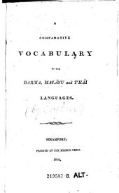A Comparative Vocabulary of the Baoma Malayn an Thai Languages