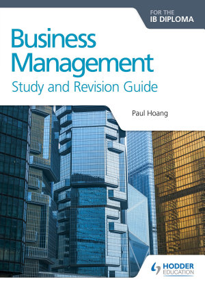 Business Management for the IB Diploma Study and Revision Guide PDF