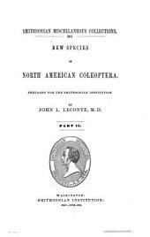 New Species of North America Coleoptera: Part 2