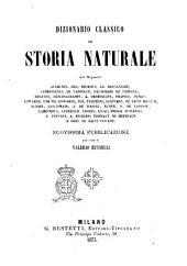 Dizionario classico di storia naturale [di] Audouin ... [et al.]