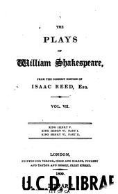 The Plays of William Shakespeare: Volume 7