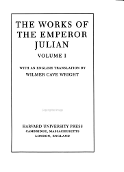 The Works of the Emperor Julian PDF