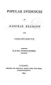 Popular Evidences of Natural Religion and Christianity