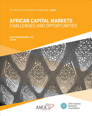 African Capital Markets  Challenges and Opportunities