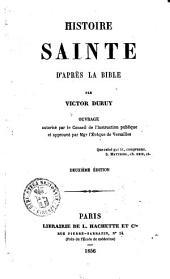 Histoire sainte d'apres la Bible par Victor Duruy