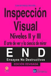 Inspección visual. Niveles II y III