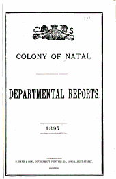 Departmental Reports