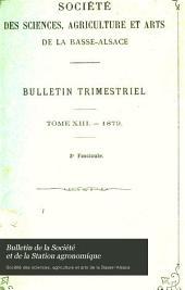 Bulletin de la Société et de la Station agronomique: Volumes12à13